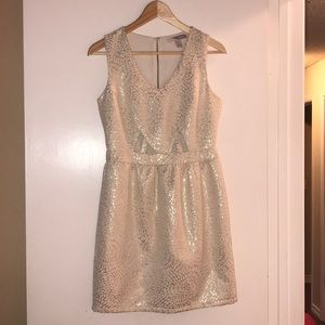 Forever 21 gold bubble dress S